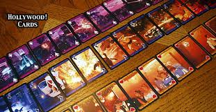 Card Game Design Review Of The Hollywood Card Game Rpgnet Rpg Game Index