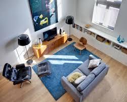 beauty living room with a loft style design riasti perdani murti