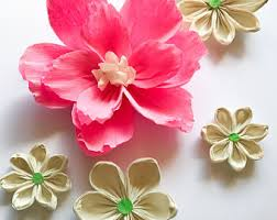 crepe paper flowers crepe paper flowers etsy