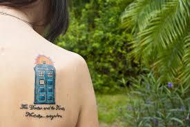 tardis tattoo by raychulwhatsername on deviantart