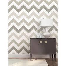 nuwallpaper 30 75 sq ft grey wood plank peel and stick wallpaper