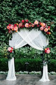 diy wedding arch confetti skies event design confetti and wedding
