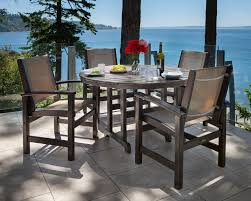 polywood coastal patio dining chair u0026 reviews wayfair