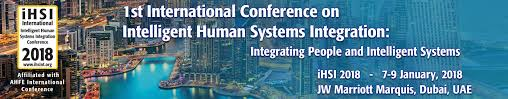 2018 international conference on intelligent human systems integration