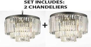 Odeon Crystal Chandelier Rustic Collection U2013 Gallery Chandeliers