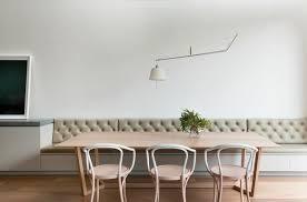 esszimmer sitzbank mit rückenlehne gute idee für die offene küche - Sitzbänke Esszimmer