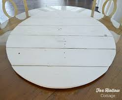 Build A Wooden Table Top by How To Make Pallet Wood Into A Round Circle Shape Fox Hollow Cottage