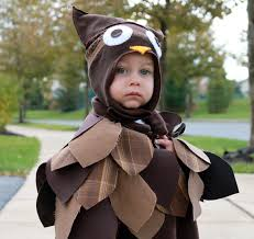 Owl Halloween Costume Baby by Everywhere Orange Owl Halloween Costume