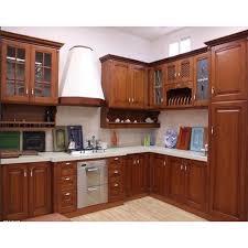 teak wood kitchen cabinets plywood colour customized teak wood kitchen cabinets rs 50000 unit