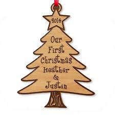 ornament laser wood engraved tree ornament persona