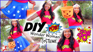 halloween costumes wonder woman diy wonder woman halloween costume youtube