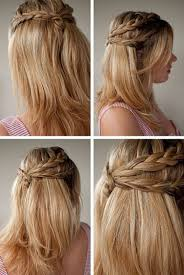 hairstyles for long hair half up