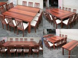 luxurious and splendid large square dining table charming ideas