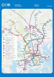 Brussels Metro Map by Route Maps Hsl