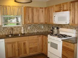 hickory kitchen cabinet kitchen wonderful hickory kitchen cabinets stained hickory