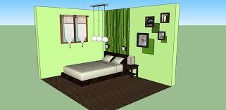 deco chambre vert organisation décoration chambre adulte vert marron