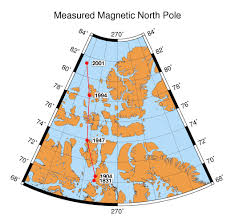 North Pole Map Whoi Magnetics Group Magnetic Poles