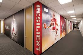 stanford football offices and locker room u2013 advent