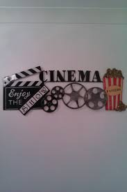 movie theater themed home decor movie theater wall decor wall decoration ideas