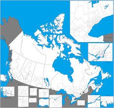 Ottawa Canada Map by Canada Ridings Map 2015 2048x1040 Mapporn