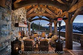 timber frame home interiors roger wade log home pictures timber frame home design