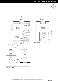 8 york street floor plans 23 york street hawthorn marshall white