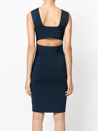 t by alexander wang v neck bodycon dress 469 navy designer style