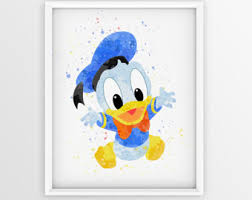 disney donald duck etsy