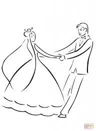 wedding dance coloring download printable holiday