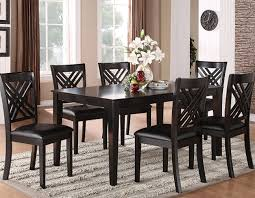 espresso dining table with leaf dining room furniture indianapolis