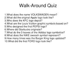 what does the logo logo design walkaround