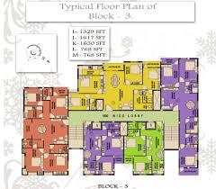 floor plan fortune square new town kolkata residential