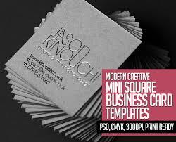 Business Cards Mini 22 Mini Square Business Card Psd Templates Design Mock Up
