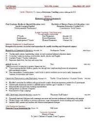 Sample Resume For Special Education Teacher by Free Special Education Teacher Cover Letter Templates
