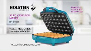 cake pop maker hf 09035 35pc cake pop maker holstein housewares