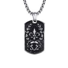 necklaces for cool necklaces for men stainless steel necklace dog tag