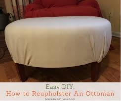 Diy Reupholster Ottoman by Home Sweet Hall U0027s U2022 Living The Good Life With Down Syndrome