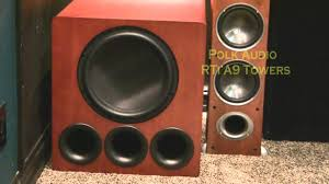 best home theater subwoofer bryan u0027s home theater dual svs pb13 subwoofers youtube