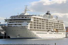 cruise ship the world exclusive cruise ship the world delayed in hobart after anchor