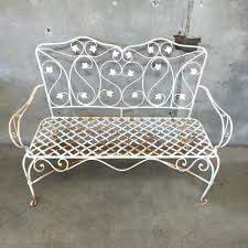 Wrought Iron Patio Furniture Vintage - outdoor wrought iron bench u2013 ammatouch63 com