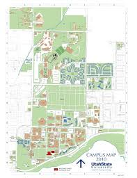 Map Of Utah by Utah State University Campus Map Usu Snap Map