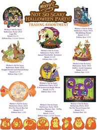 latest mickey u0027s not so scary halloween pins coming to wdw