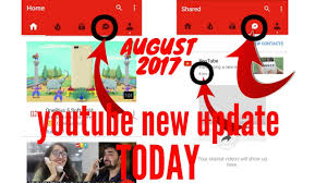 home design shows on youtube new youtube update 8 9 2017 today new sharing button option on