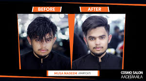 haircut deals lahore musa nadeem at cosmo lahore grooming and hair salon for men