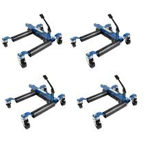 Flat Dolly Home Depot by Capri Tools 1500 Lb 9 In Hydraulic Car Wheel Dolly 4 Pack