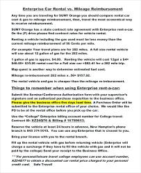 10 enterprise rental agreement templates u2013 free sample example