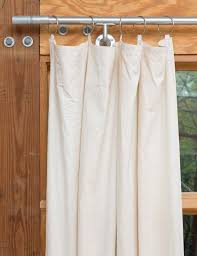 How Much Does It Cost To Dry Clean Curtains Diy Window Curtains From Canvas Or Dropcloth Diy Network Blog