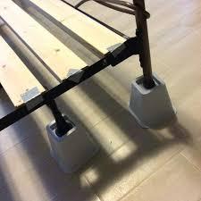 Bed Risers For Metal Frame Platform Bed Risers Hoodsie Co