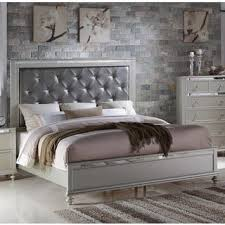 silver bed queen size silver beds for less overstock com