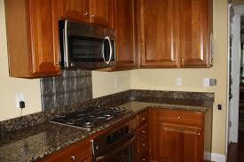 decorations unique kitchen backsplash to give stunningly decorations awesome metal kitchen backsplash with unique design along wooden cabiner and marble countertop also